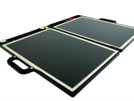 Solar Folding Briefcase Charger 13 Watt