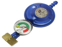 Butane Regulator With Leak & Level Gauge