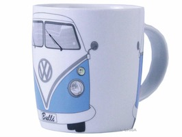 VW Camper Bone China Mug Blue Gift Boxed