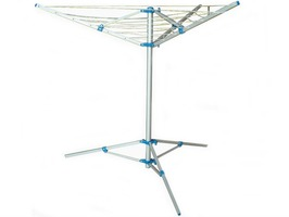 3-Arm Aluminium Rotary Airer with Tripod Stand