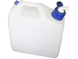9.5 Litre Jerrycan with Tap Water Container