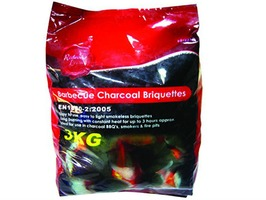 Redwood 3kg Barbecue Charcoal Briquettes