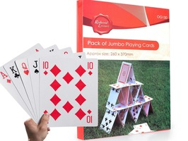 Redwood Pack of Jumbo Playing Cards