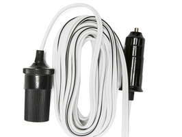 W4 Cigar Plug / Socket Extension Lead 2 Metre