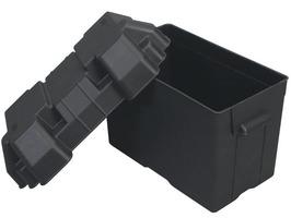 Black Plastic Battery Holding Box