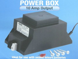 Powerbox 10 amp 230v Transformer & Charger