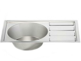 """Stainless Steel Sink & Drainer 21.75"""" x 14"""""""