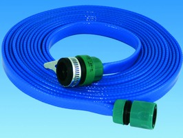PLS 7.5 Metre Roll Flat Hose Assembly