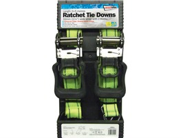 Streetwize Ratchet Tie Downs (5m x 32mm)