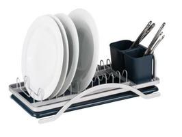 Kampa Slimline Drainer, Dish Rack & Cutlery Holder