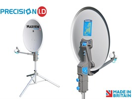 Maxview Precision I.D 55cm Portable Satellite System