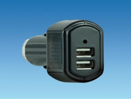 12V Double USB Socket