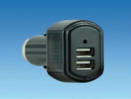 12V Double USB Socket