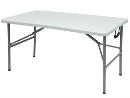 Sreetwize 4ft Folding Blow Moulded Table