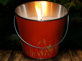 The Buzz Citronella Candle Bucket Large