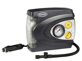 Ring RAC625 12v Preset  Analogue Air Compressor with LED Light