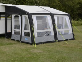 Kampa Rally AIR Pro Grande 390 with Dual pitch roof system