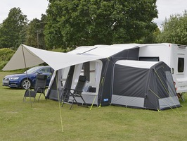 Kampa Ace AIR Pro 300 with Dual Pitch Roof System