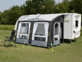 Kampa Rally AIR Pro 330 with Dual Pitch Roof System
