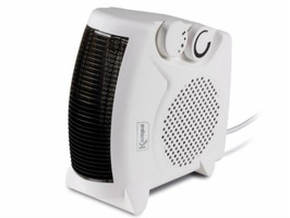 Kampa Bora 230v Upright/Flat Fan Heater