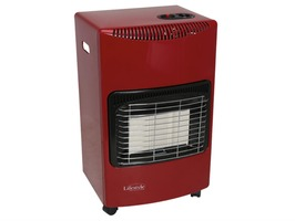 Lifestyle Large Gas Mobile Radiant Cabinet Heater