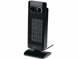 Kampa Sirocco Tall Oscillating PTC Fan Heater