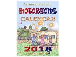 2018 Motorhome Calender - Armand Foster's cartoons
