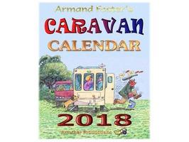 2018 Caravanning Calender - Armand Foster's cartoons