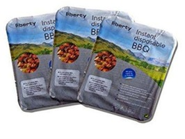 Liberty Leisure Box of 3 Instant Disposable BBQ's