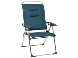 Lafuma Alu Cham Air Comfort Recliner Chair Coral Blue