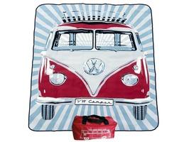 VW Volkswagen Picnic Blanket - Red