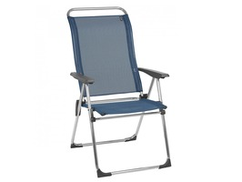Lafuma Alu Cham Iso Batyline Recliner Chair Ocean Blue