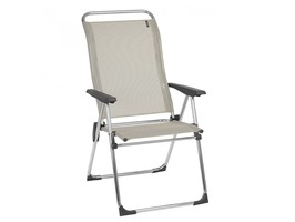 Lafuma Alu Cham Iso Batyline Recliner Chair Seigle