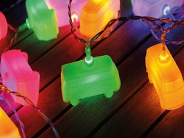 VW T1 Campervan LED String Lights - Set of 20