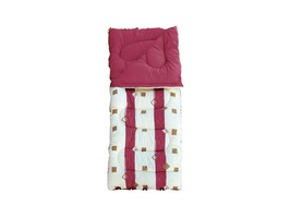 Royal Umbria King Luxury Sleeping Bag Burgundy