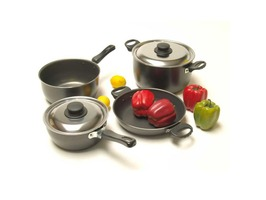 Camp 4  8-Piece Aluminium Cookware Set