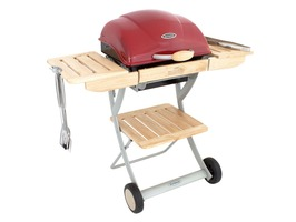 Outback Omega 200 Charcoal Barbecue Red
