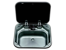 Smev VA8005 Sink with Glass Lid