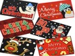 JVL Christmas Machine Washable Mats