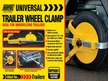 "Maypole  Universal Trailer Wheel Clamp 8"" to 10"""