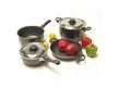 Camp 4  8-Piece Aluminium Cookware Set