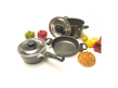 Camp 4 6-Piece Aluminium Cookware Set